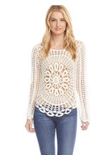 Load image into Gallery viewer, Karen Kane Crochet Sweater