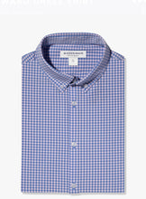Load image into Gallery viewer, Mizzen+Main Leeward Pink and Blue Mini Check Trim Fit or Classic Fit