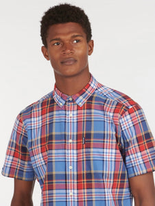 Barbour Madras 9 Short Sleeve Shirt