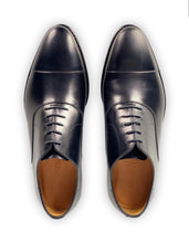 Load image into Gallery viewer, ARMIN OEHLER Macon Cap Toe Oxford Black