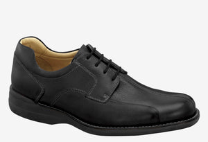 Johnston & Murphy Shuler Bicycle Toe Oxford Black