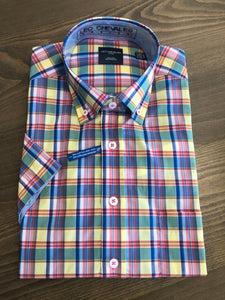 Leo Chevalier Short Sleeve Sport Shirt