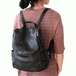 Joy Susan Kerri Side Pocket Backpack- 6 Colors