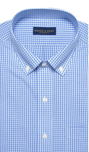 Wilkes & Riley Blue Mini Plaid