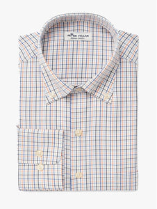 Peter Millar Nash Micro Check Sport Shirt