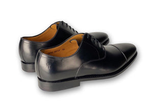 ARMIN OEHLER Macon Cap Toe Oxford Black