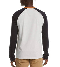 Load image into Gallery viewer, Original Penguin Heathered Color Block Baseball Tee- 2 Colors