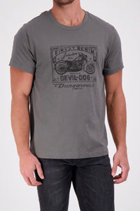 Devil Dog Asphalt Tee