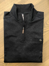 Load image into Gallery viewer, Nicoby Slub Quarter Zip Print Trim- 3 Colors