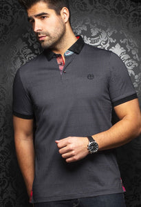 Au Noir Sierra Polo Black