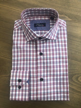 Load image into Gallery viewer, Lugano Red Plaid Sport Shirt