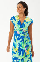 Load image into Gallery viewer, Tommy Bahama Nirvana Night Faux Wrap Dress
