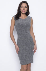 Frank Lyman Black Silver Dress