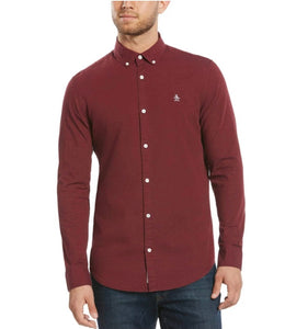 Original Penguin Heathered Poplin