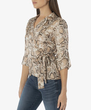 Load image into Gallery viewer, Kut Josephine Wrap Top