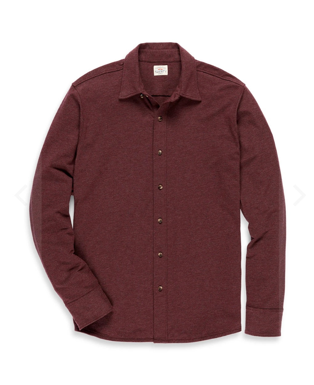 Faherty Stretch Knit Shirt