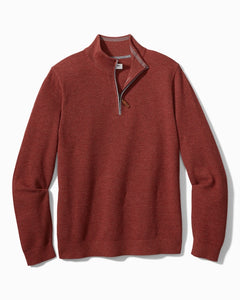 Tommy Bahama Island Zone Coolside Half Zip- 3 Colors