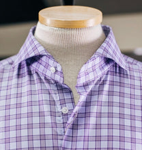 Load image into Gallery viewer, Emanuel Berg Purple Plaid