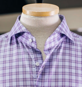 Emanuel Berg Purple Plaid