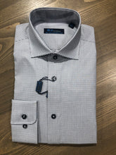 Load image into Gallery viewer, Blu by Polifroni Grid Check Dress Shirt
