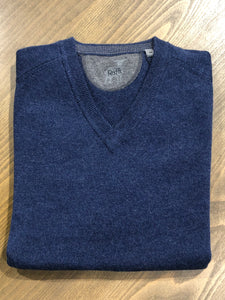 Raffi Cashmere V-Neck Sweater- 4 Colors