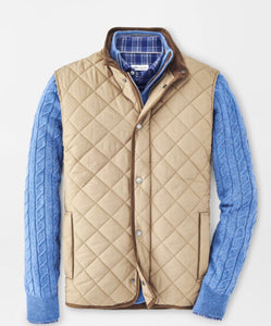 Peter Millar Essex Quilted Travel Vest- 5 Colors