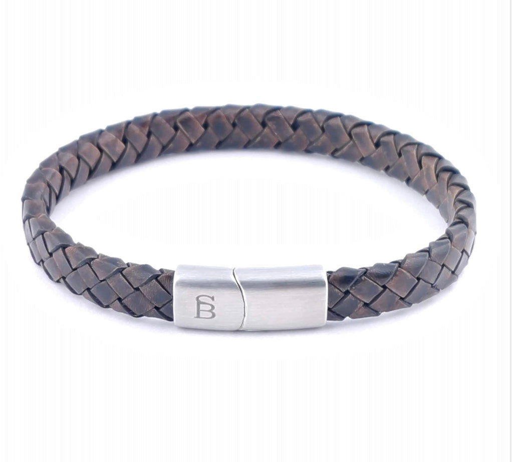 Steel & Barnett Leather Bracelet Riley