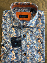Load image into Gallery viewer, Blu by Polifroni Paisley Sport Shirt