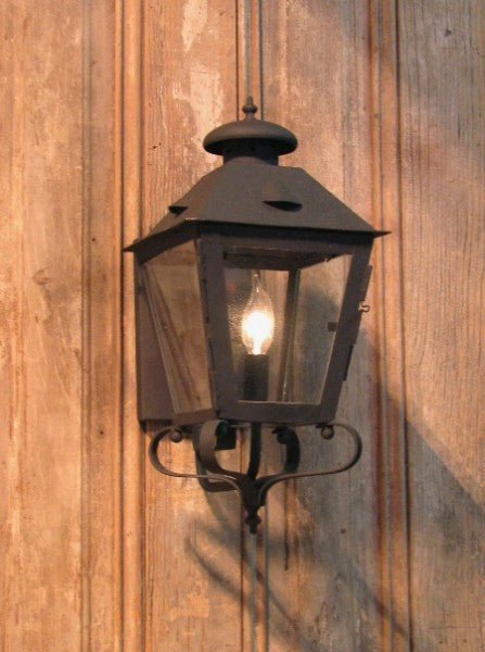 Solaria Lighting Charles Wall Exterior Lantern Small