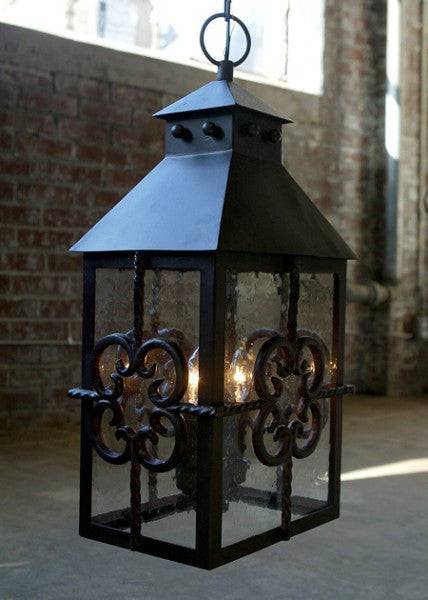 Solaria Lighting Carlo Hanging Lantern Large