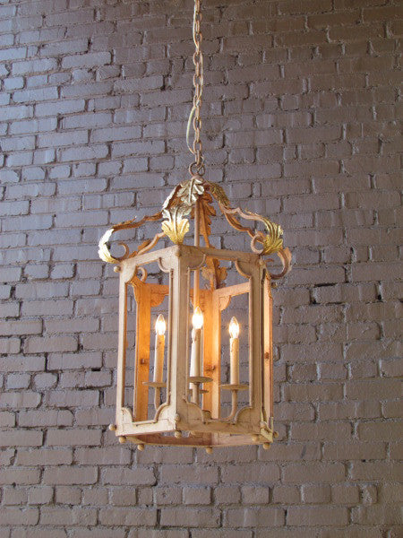 Solaria Lighting Aix-en-Provence Hanging Lantern Gold