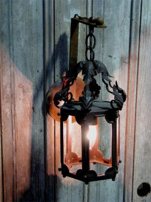 Solaria Lighting Aix-en Provence Hanging Exterior Wall Sconce