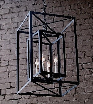 Solaria Lighting Dos Cubos Lantern Medium