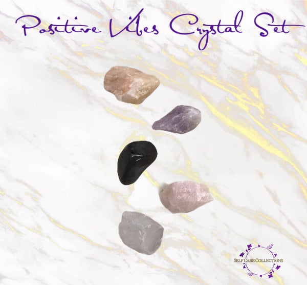 Positive Vibes Crystal Set