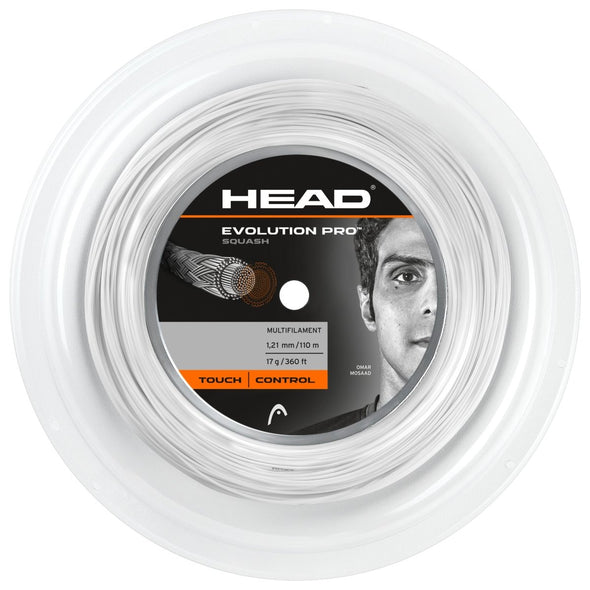 Evolution Pro (Squash) 1.30mm (110m) - Head Sport