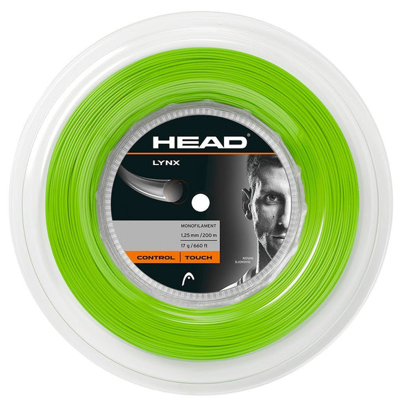 LYNX Reel 1.25mm (200m) Green - Head Sport