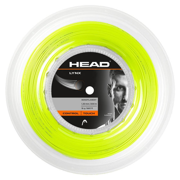 LYNX Reel 1.25mm (200m) Yellow - Head Sport