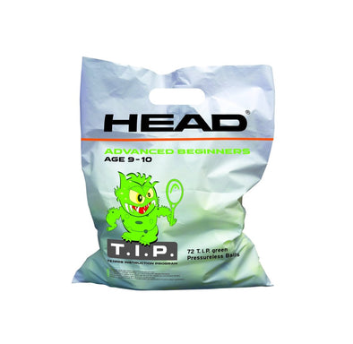 TIP Green Ball (72 Ball Bag) - Head Sport