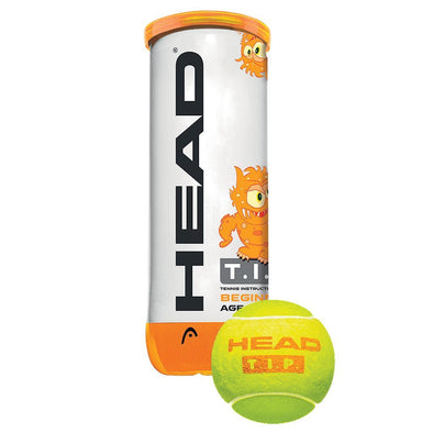 T.I.P. Orange - 3 Ball Can - Head Sport