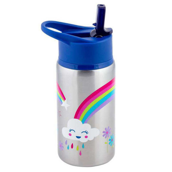 Stephen Joseph Stainless Steel Water Bottle - Rainbow