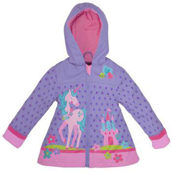 Stephen Joseph Purple w/Unicorn Raincoat 3 - NEW