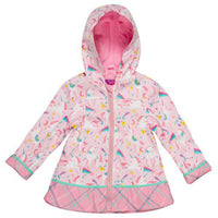 Stephen Joseph All Over Print Unicorn Raincoat 5/6 - NEW