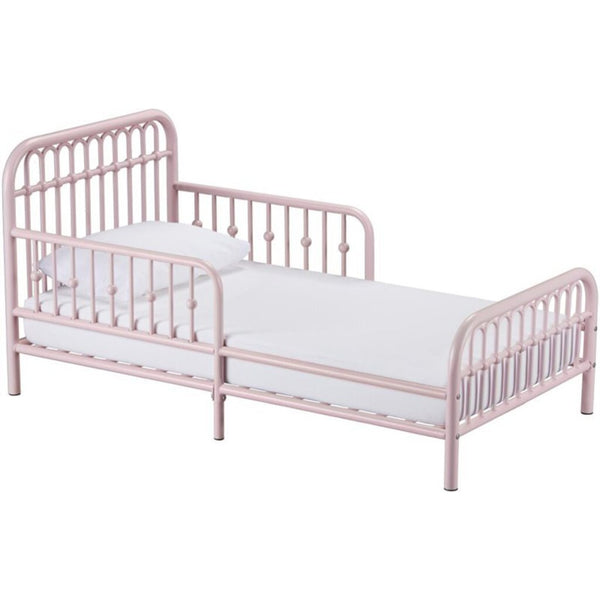 Little Seeds Toddler Pink Bed w/ Mattress ON SALE