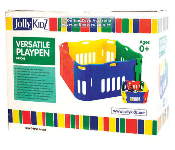 Jolly Kidz Versatile Playpen + Extension Set (as-is) ON SALE