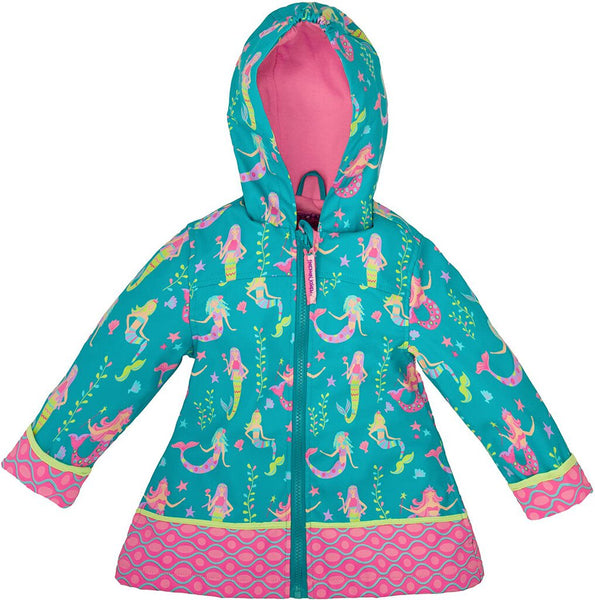 Stephen Joseph All Over Print Mermaid Raincoat 2 - NEW