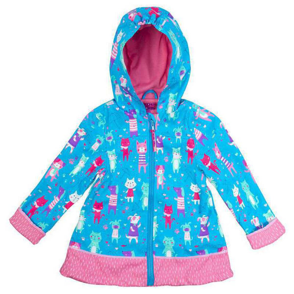 Stephen Joseph All Over Print Cats and Dogs Raincoat 4/5 - NEW