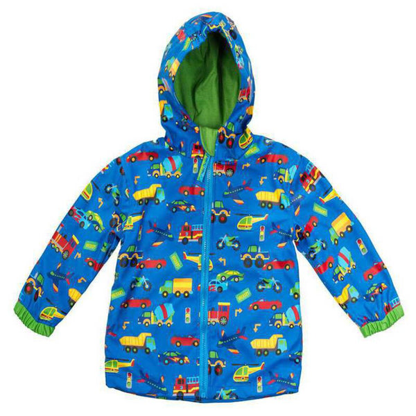 Stephen Joseph All Over Print Transportation Raincoat 3 - NEW