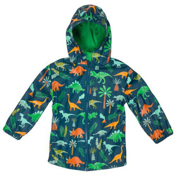 Stephen Joseph All Over Print Dino Raincoat 3 - NEW
