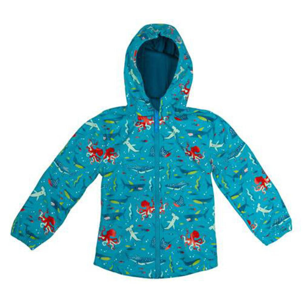 Stephen Joseph All Over Print Shark Raincoat 3 - NEW