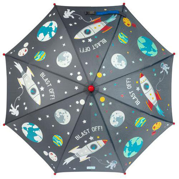 Stephen Joseph Color Changing Umbrella - Space